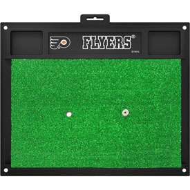 Fanmats NHL Philadelphia Flyers Golf Hitting Mats - Green/Black (20