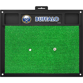 Fan Mats Nhl Buffalo Sabres Golf Hitting Mat 20 X 17