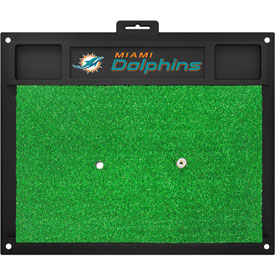 Fanmats Miami Dolphins Golf Hitting Mat (Green)