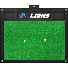 Fan Mats NFL Detroit Lions Golf Hitting Mat 20 X 17