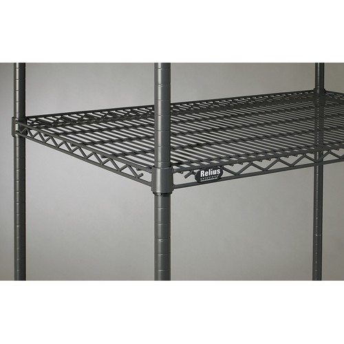 Shelves For Relius Solutions Decorator Wire Shelving - 30x18' - Black