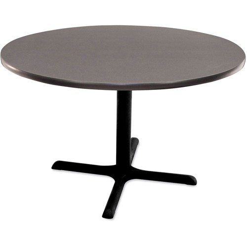 Regency Round Cafeteria Table - 48' Diameter - Gray