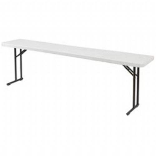 National Public Seating Folding Seminar Table - 18x96'
