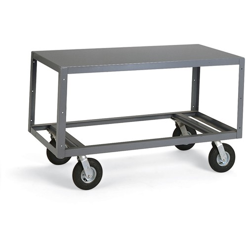 Edsal All-Welded Mobile Tables - 60'Wx30'D Shelf - 1 Shelf