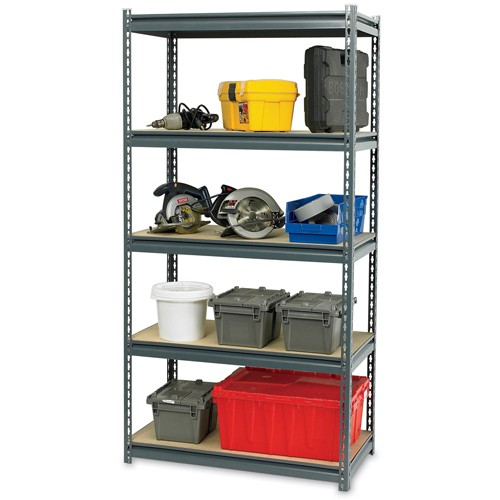 Edsal Ultra Rack Heavy-Duty Boltless Shelving - Particleboard Decking