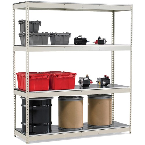 Hallowell Rivetwell Complete Standard Shelving - 48x36x84' - No Decking