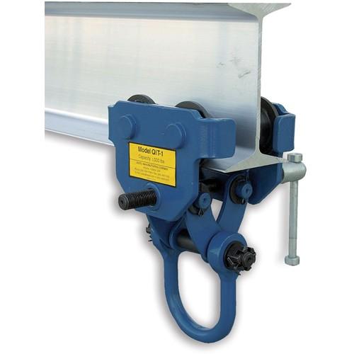 Vestil Quick-Install Trolleys - 1000-Lb. Capacity