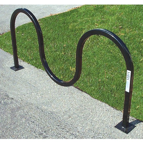 Saris Wave Round Tube Bike Rack - Holds 5 Bikes